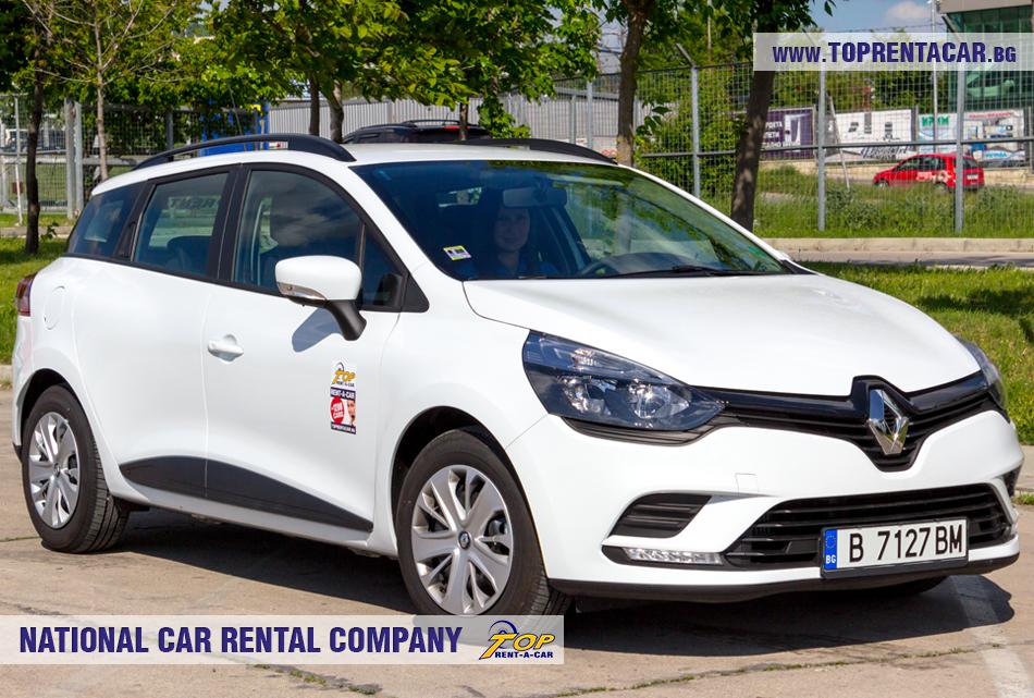 Renault Clio Grandtour - vorderansicht