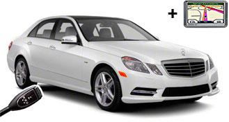 Mercedes E-Class + GPS LDAR