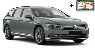 VW Passat estate + GPS FWMR