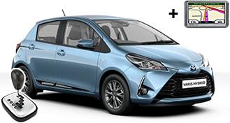 Toyota Yaris Hybrid + NAVI EDAH