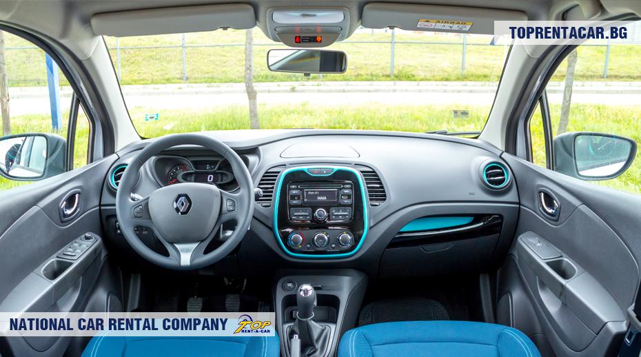 Renault Captur - innenansicht