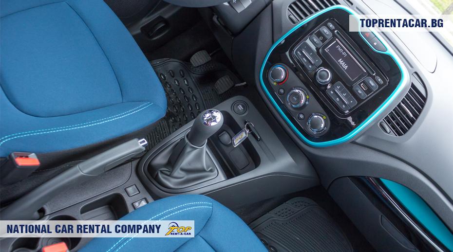 Renault Captur - mit Schaltgetriebe
