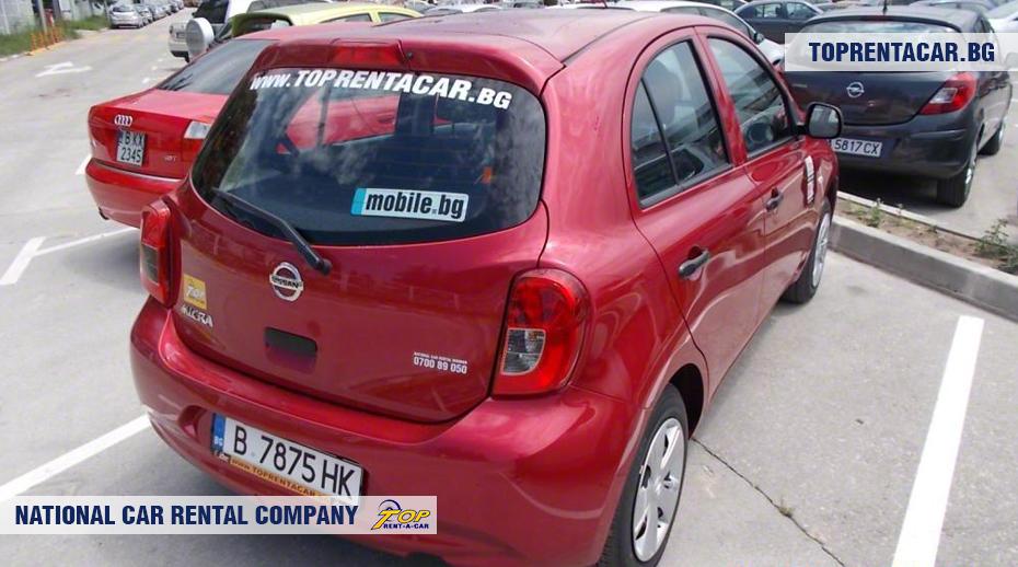 Nissan Micra - rückansicht