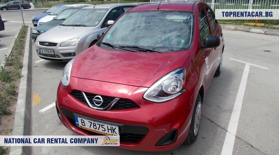 Nissan Micra - vorderansicht
