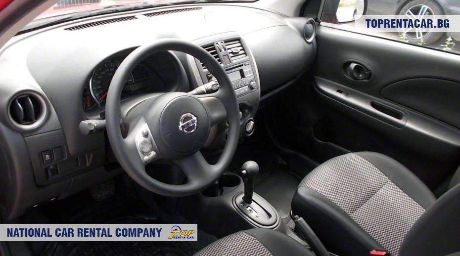 Nissan Micra - innenansicht