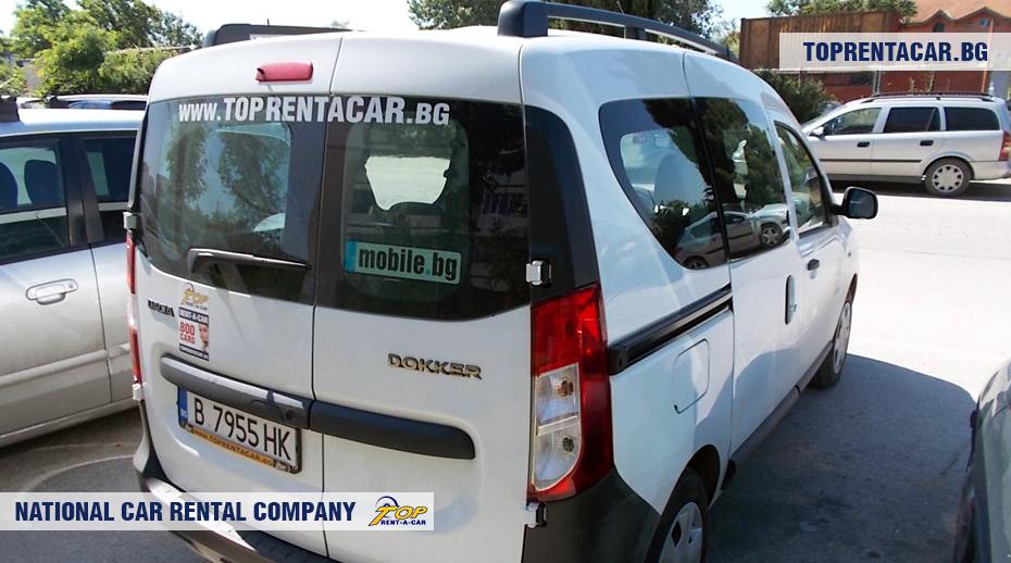 Dacia Dokker - rückansicht