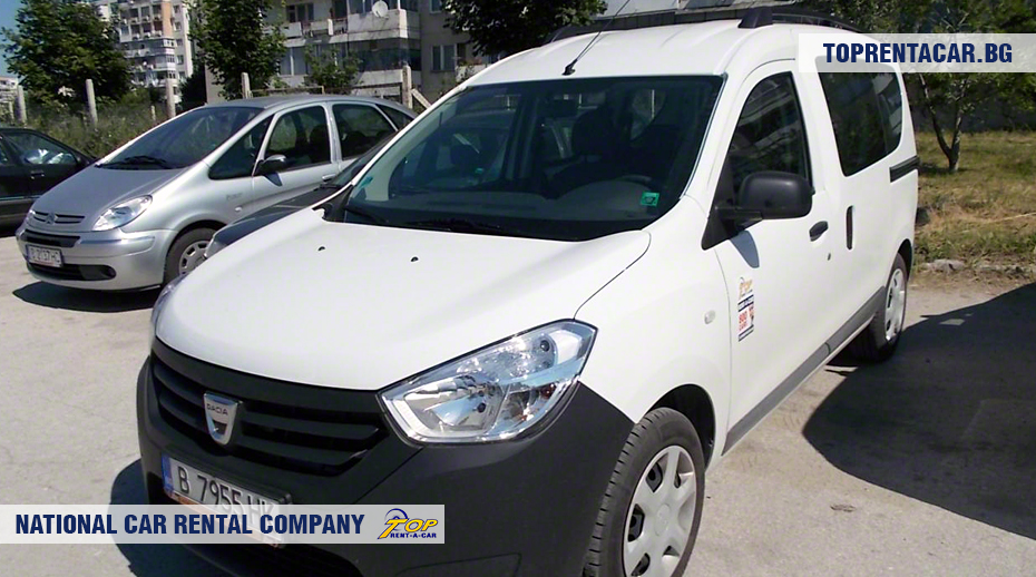Dacia Dokker - vorderansicht