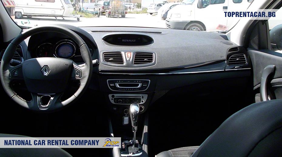 Renault Fluence - innenansicht