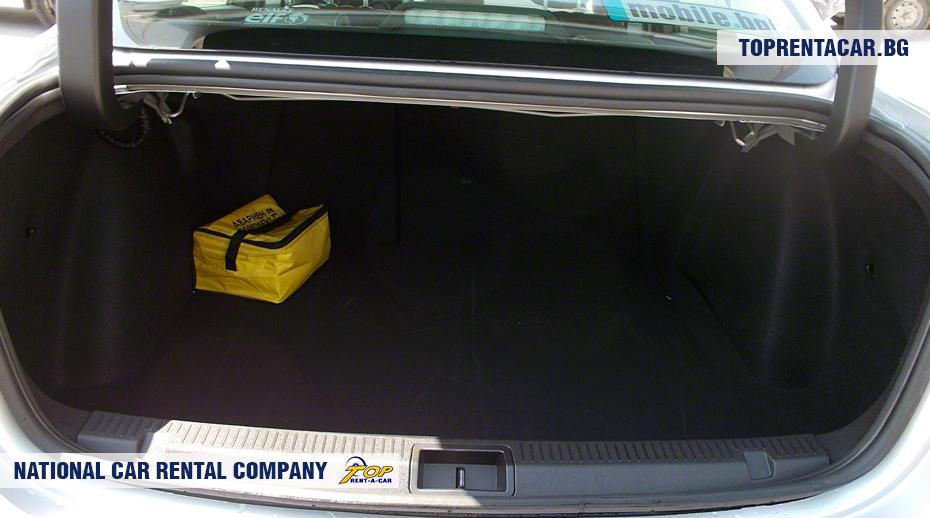 Renault Fluence - ansicht der kofferraum