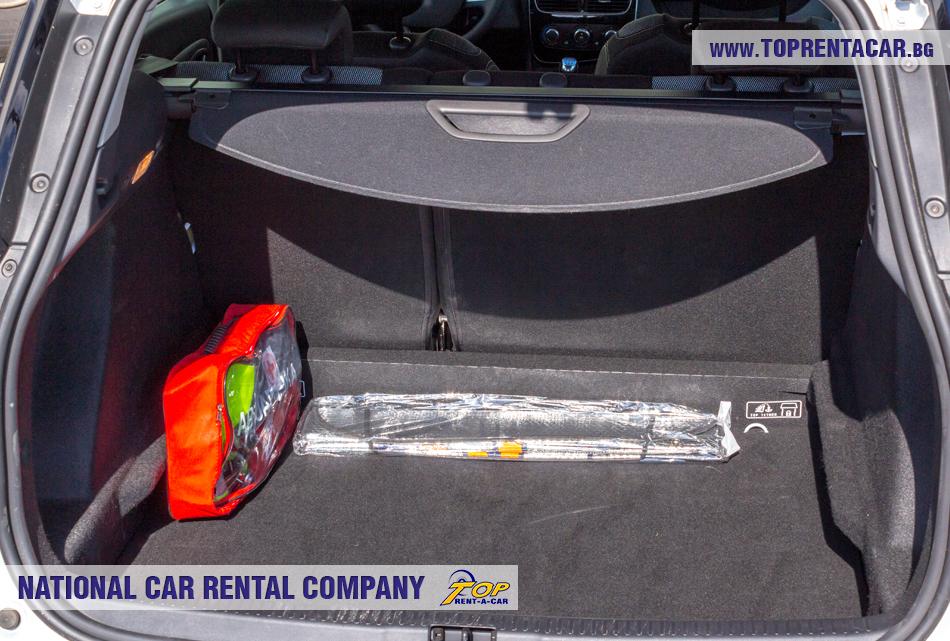 Renault Clio Grandtour - ansicht der kofferraum