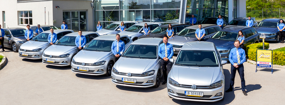 Das Team von Top Rent A Car