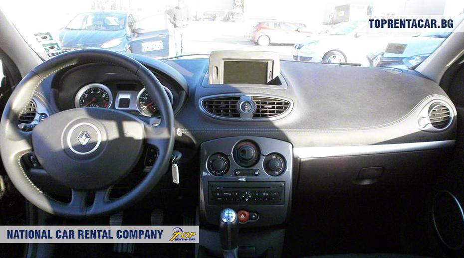 Renault Clio III - innenansicht