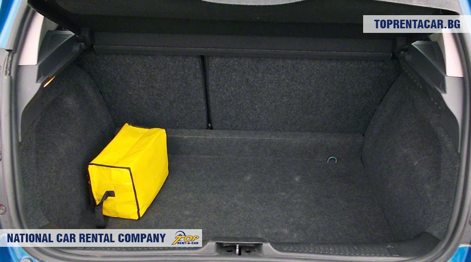 Renault Clio III - ansicht der kofferraum