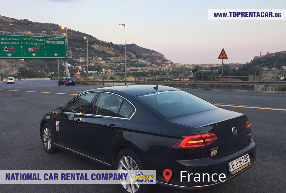 Top Rent A Car - France