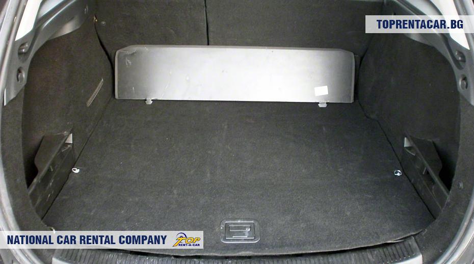 Renault Megane - ansicht der kofferraum