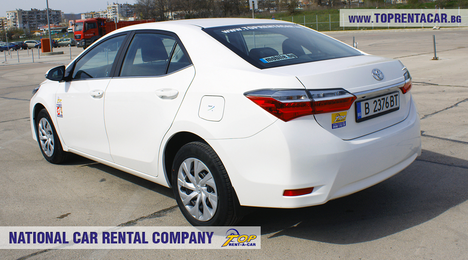 Toyota Corolla 2018 von Top Rent A Car