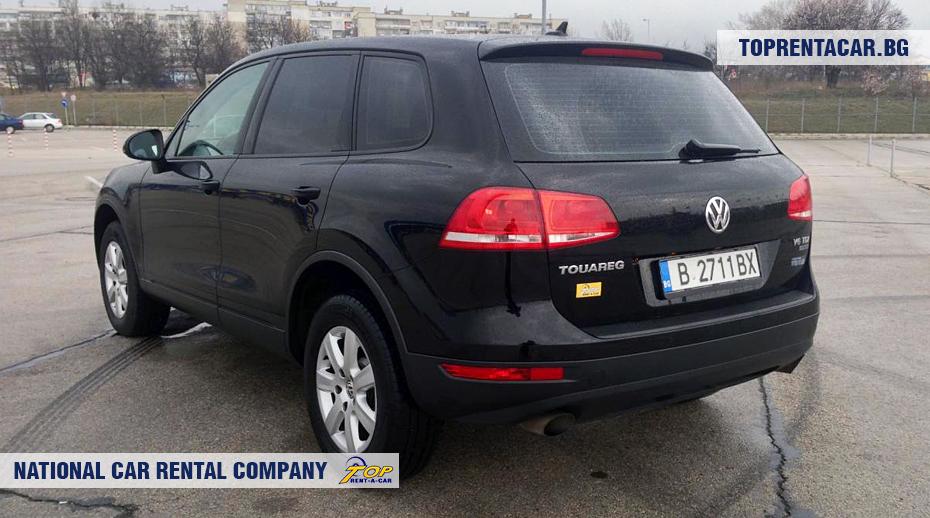 VW Touareg - rückansicht