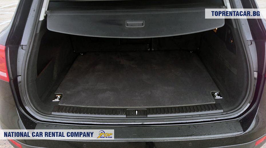 VW Touareg - ansicht der kofferraum
