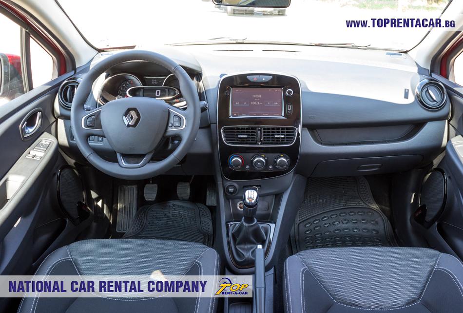 Renault Clio IV TCe - изглед отвътре