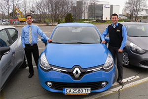 Rent a car am Flughafen Burgas