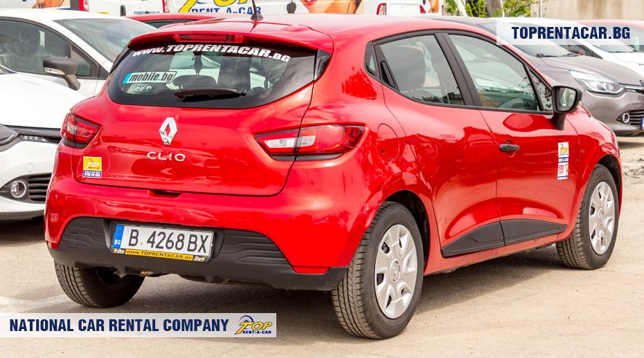 Renault Clio IV - rückansicht
