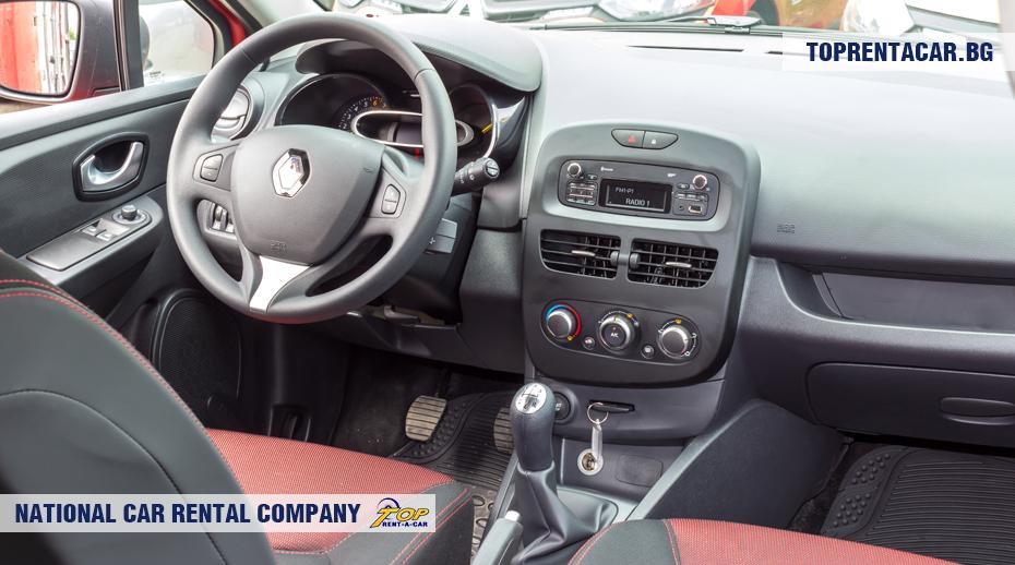 Renault Clio IV - innenansicht