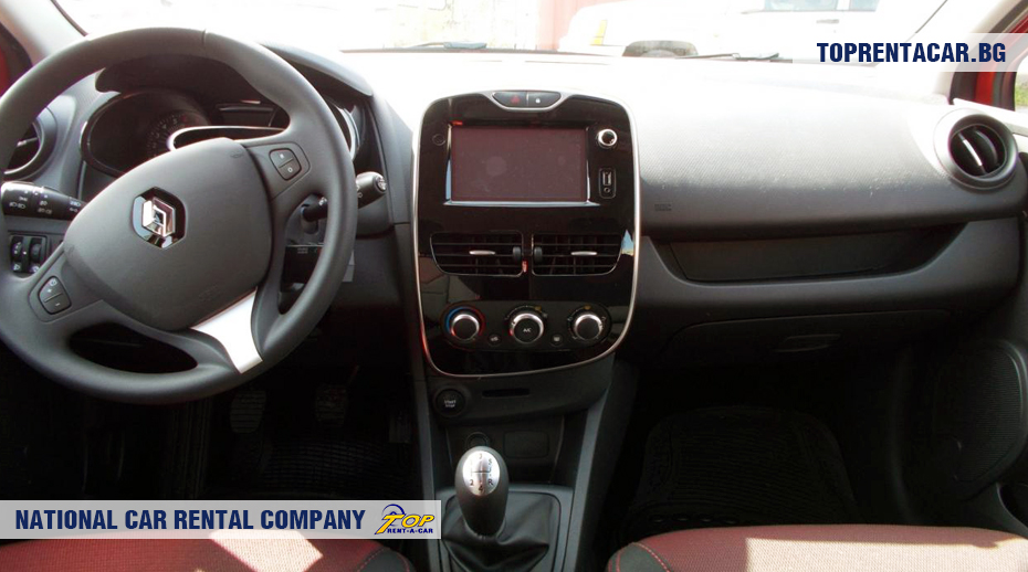 Renault Clio IV TCe - innenansicht
