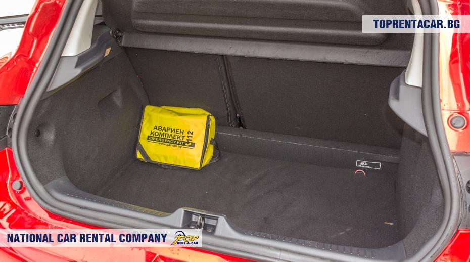 Renault Clio IV - ansicht der kofferraum