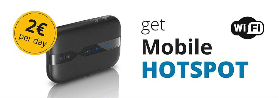 Mobiler Hotspot von Top Rent A Car