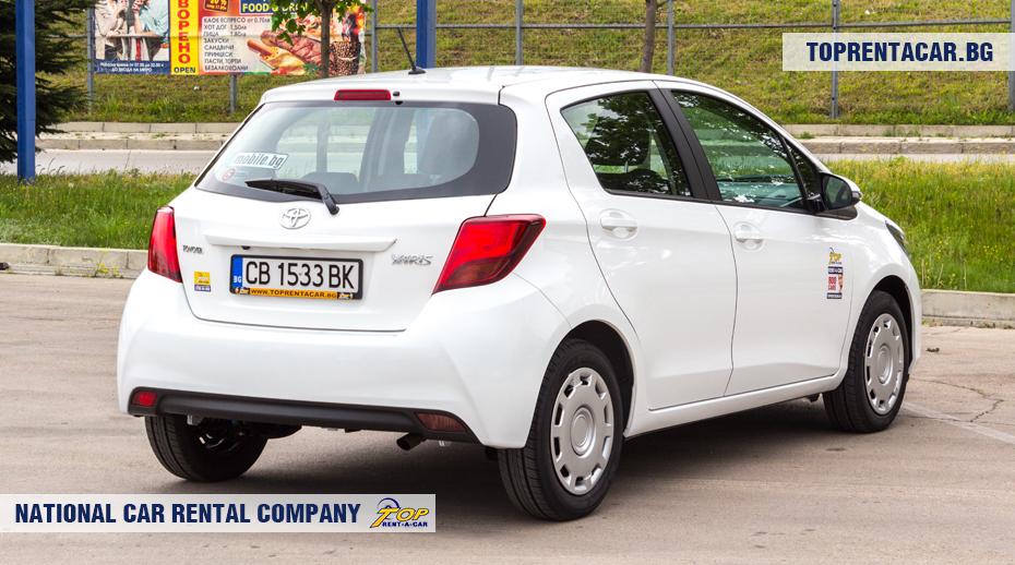 Toyota Yaris - rückansicht