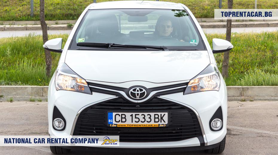 Toyota Yaris - vorderansicht