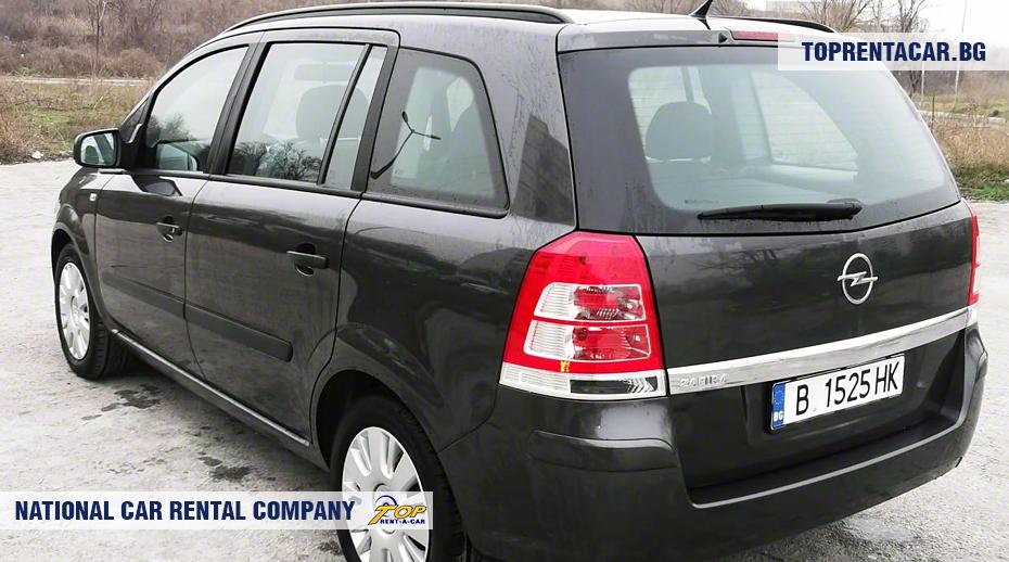 Opel Zafira - rückansicht