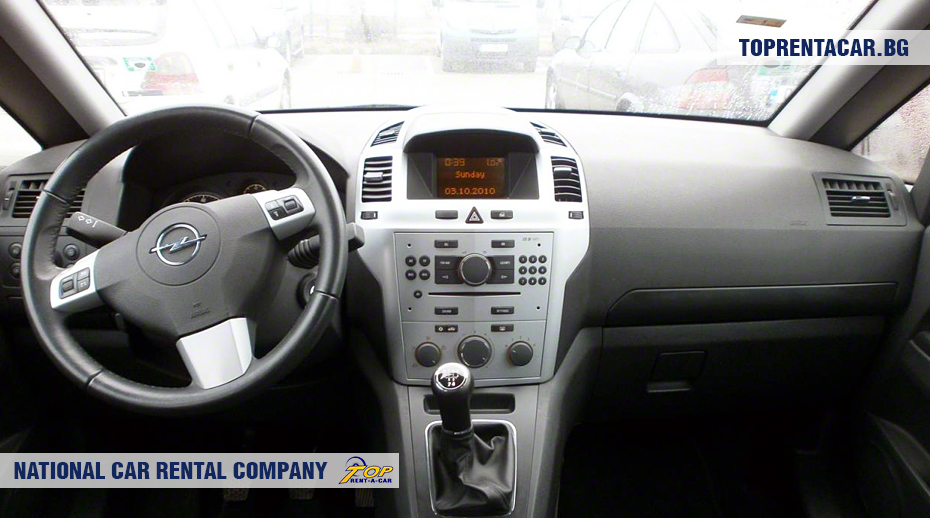 Opel Zafira - innenansicht