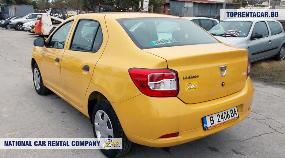 Dacia Logan - rückansicht