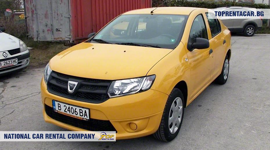 Dacia Logan - vorderansicht