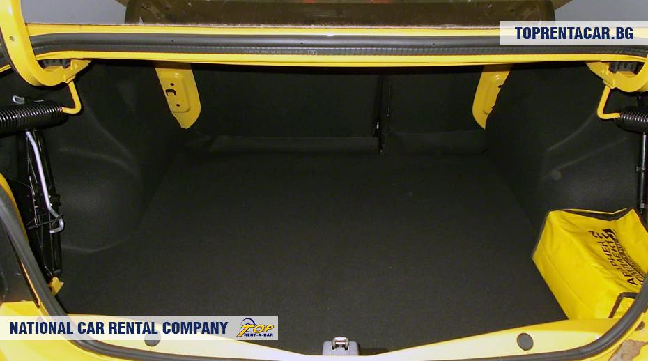 Dacia Logan - ansicht der kofferraum