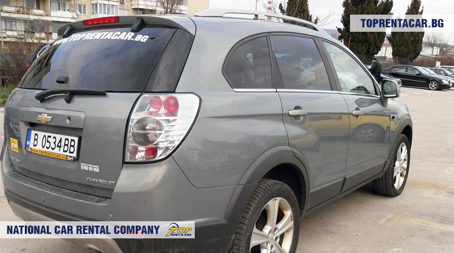 Chevrolet Captiva  - rückansicht
