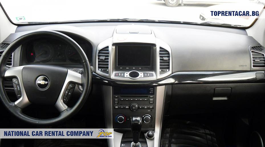 Chevrolet Captiva  - innenansicht