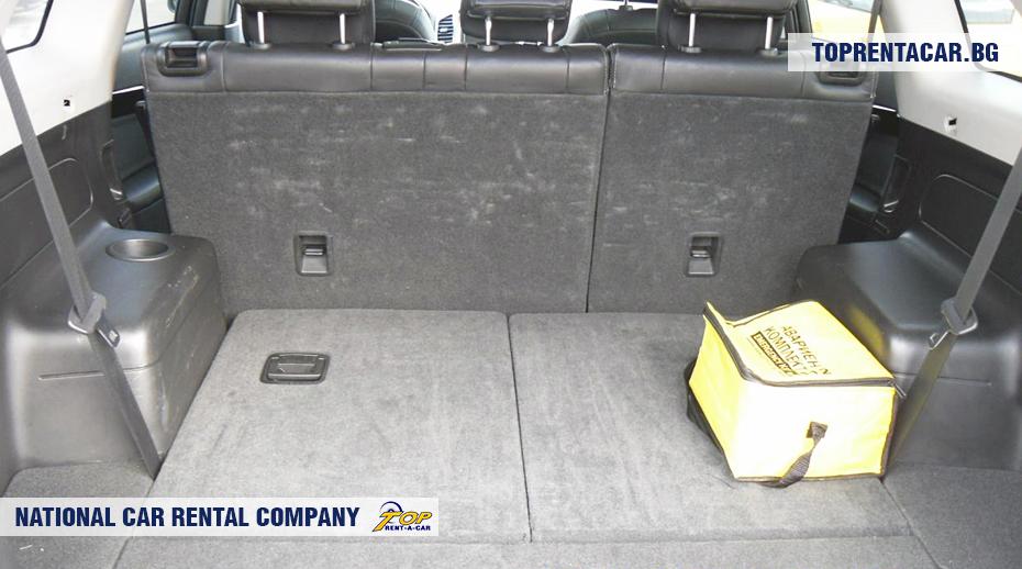 Chevrolet Captiva  - ansicht der kofferraum