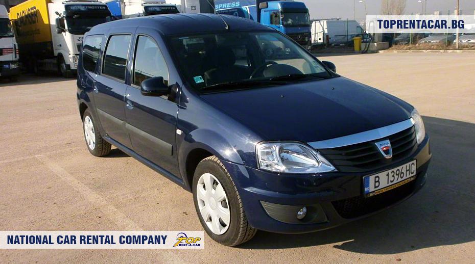 Dacia MCV - vorderansicht