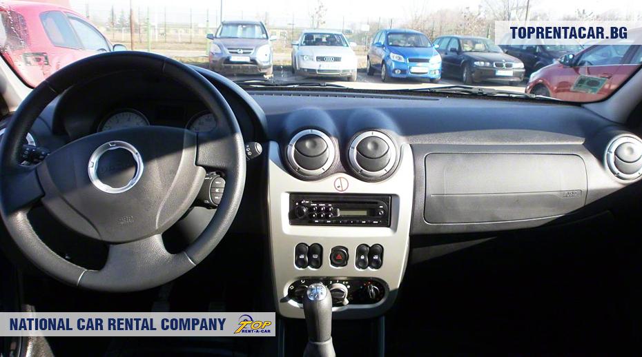 Dacia MCV - innenansicht