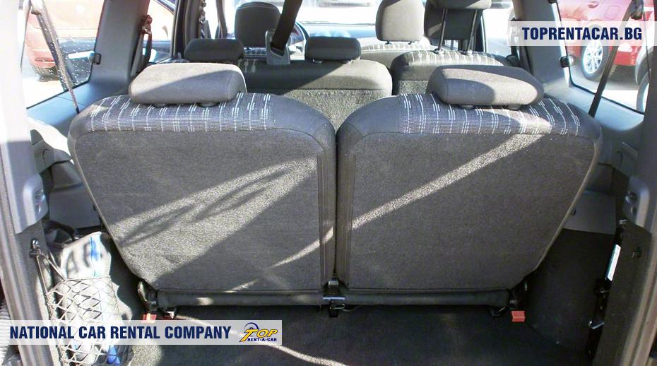 Dacia MCV - ansicht der kofferraum