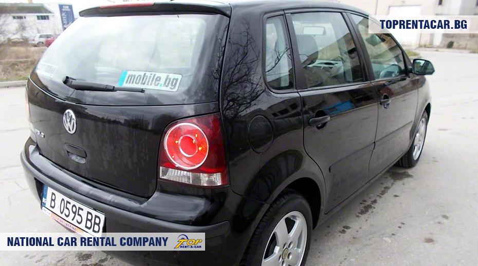 VW Polo - rückansicht