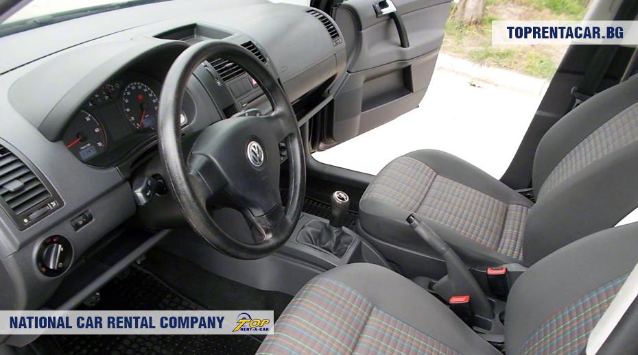 VW Polo - innenansicht