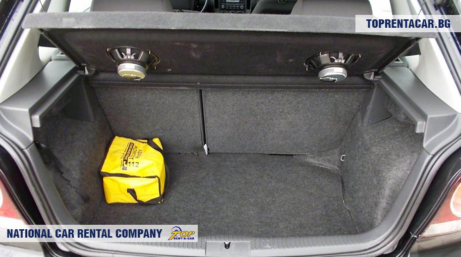 VW Polo - ansicht der kofferraum