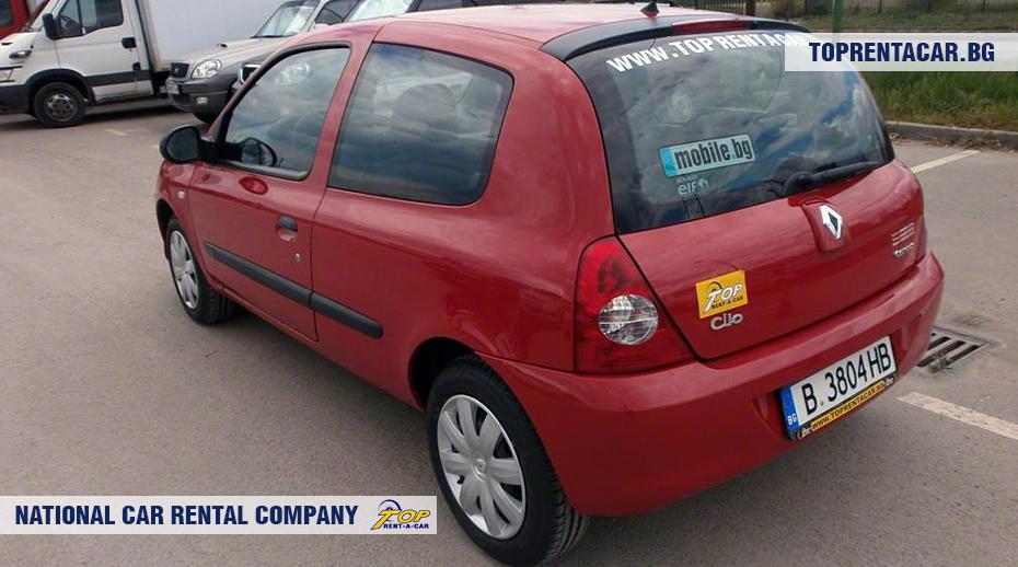 Renault Clio Campus - rückansicht