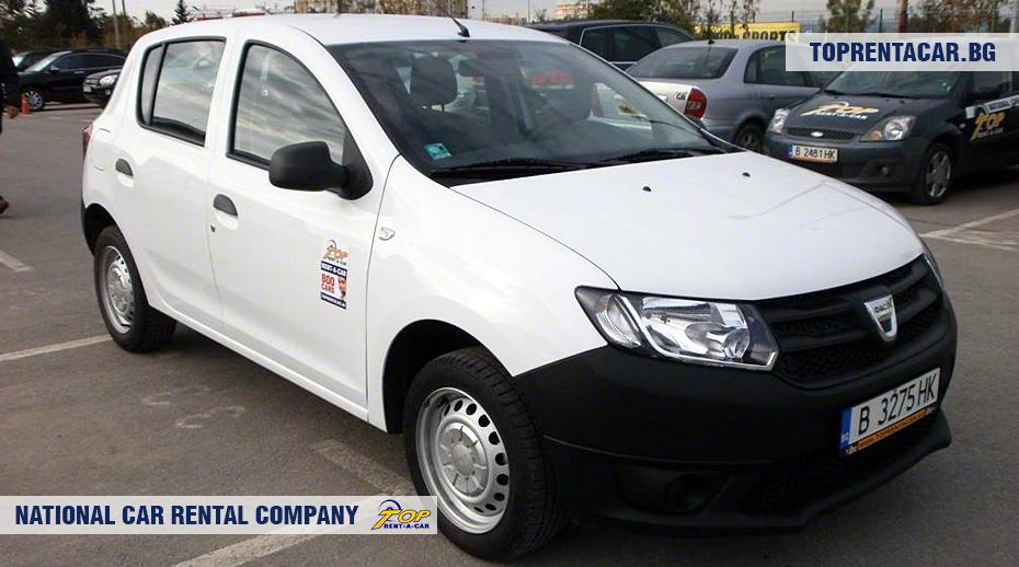 Dacia Sandero - vorderansicht