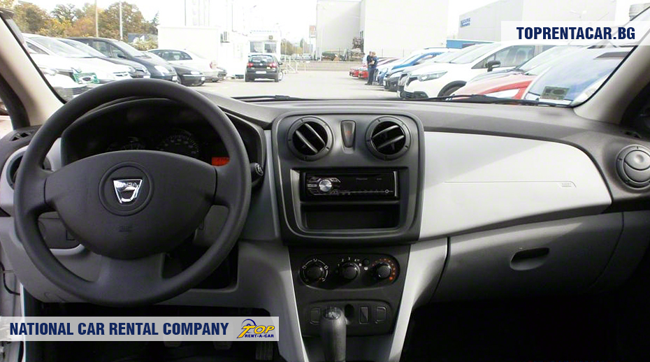 Dacia Sandero - innenansicht