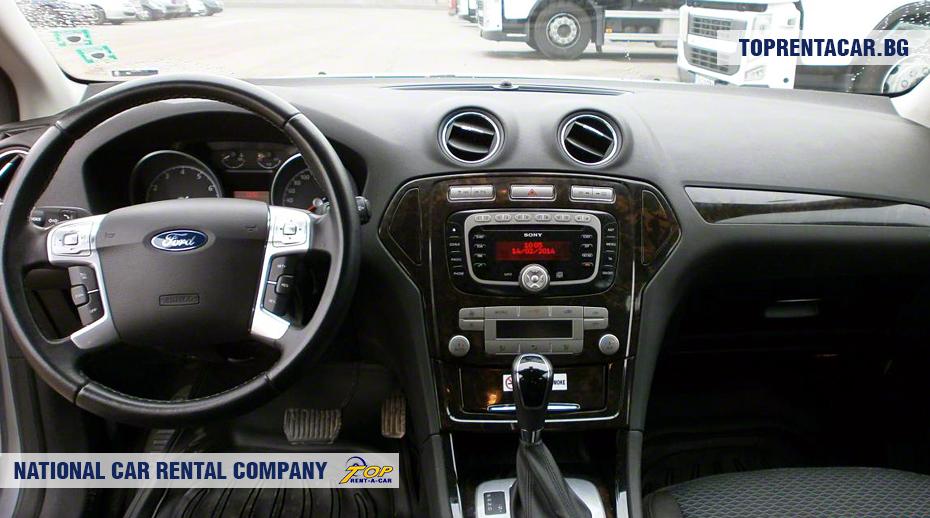 Ford Mondeo - innenansicht