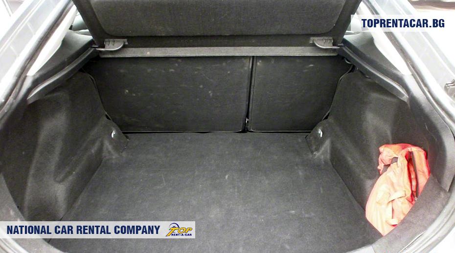Ford Mondeo - ansicht der kofferraum